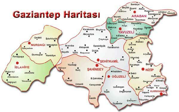 Gaziantep Haritası